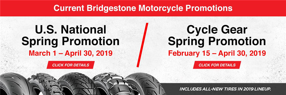 2019 Motorcycle US Spring: National and Cycle Gear
